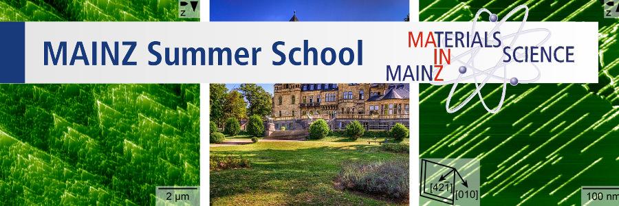MAINZ Summer and Winter Schools | GSE Mainz